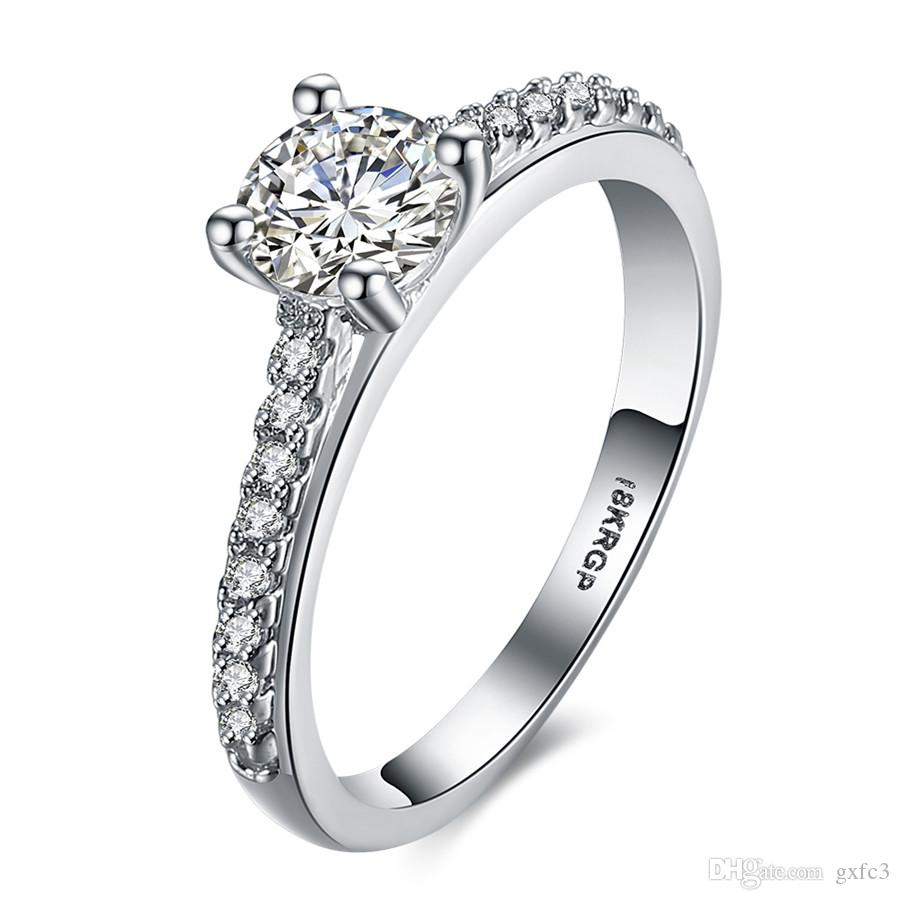2018 g3 jewelry fashion elegant original 18krgp dazzling daisy 2018 g3 jewelry fashion elegant original 18krgp dazzling daisy flower ring clear cz wedding jewelry from gxfc3 3016 dhgate izmirmasajfo Image collections