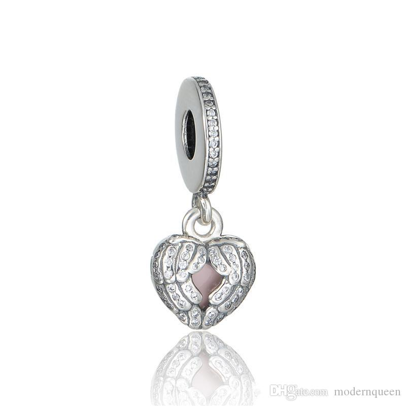 913f697f5 Wing Charm S925 Sterling Silver Fits For Pandora Style Bracelets ...