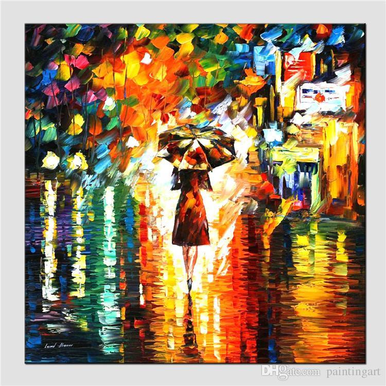Abstrakte Kunst Leinwand großhandel moderne abstrakte kunst Ölgemälde wand dekor frauen