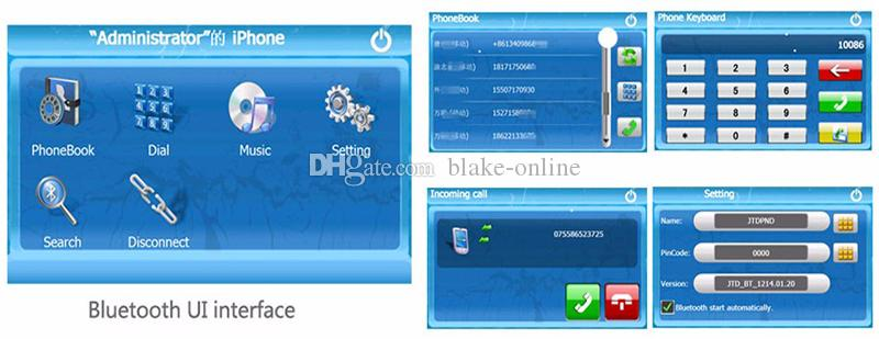 5 inch / 4,3 inch auto GPS-navigatie Meertalige vrachtwagen Navigator 800 MHZ 8GB IGO Primo 3D-kaarten Bluetooth FM AVIN-functies
