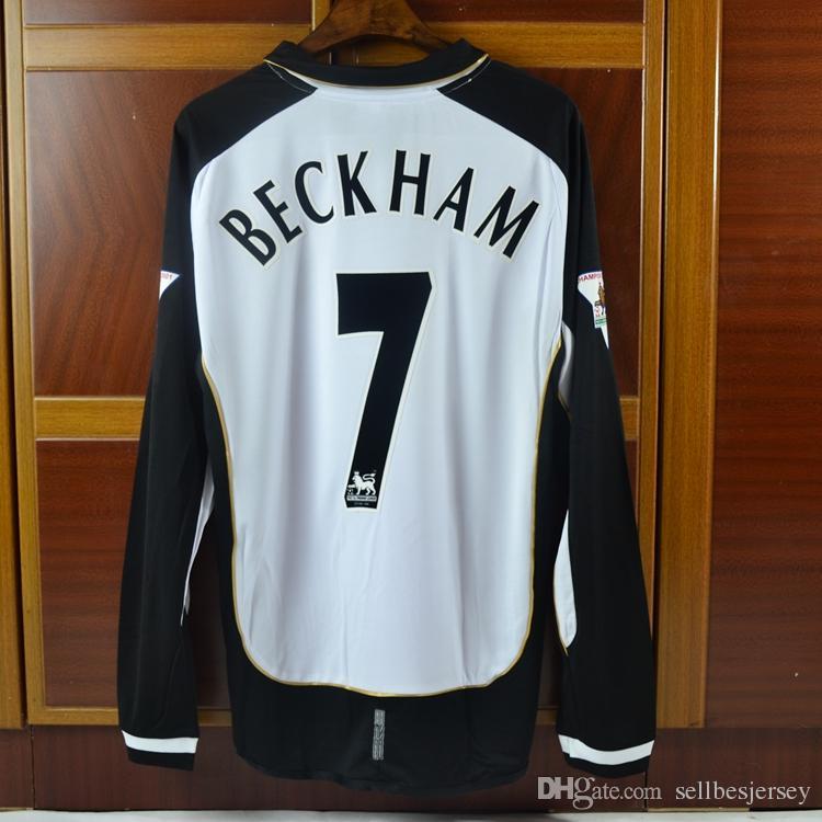 6b7202d7808 Retro Jerseys 2001-02 Beckham   Ronaldo   Owen Shirt Jersey Retro Jerseys  0102 Seson Beckham Jersey 2001-02 Ronaldo Online with  165.98 Piece on ...