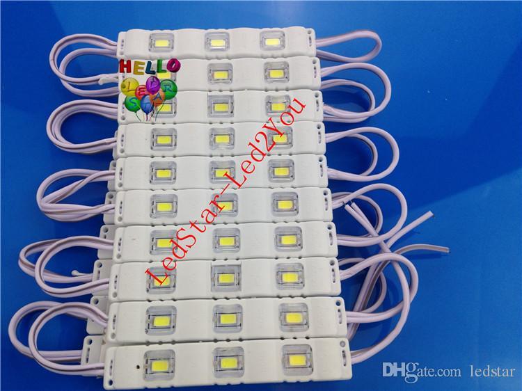 5730 3SMD Injektion runde kugel objektiv hohe helle LED Modul 12 V Wasserdichte IP 67 LED Lampen für zeichen brief