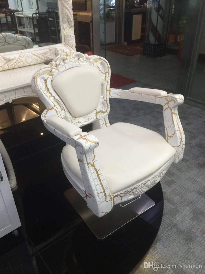 luxury antique hair salon chairs prices/beauty salon equipment/hair stylist  chairs Commercial FurnitureSalon Furniture hair cutting chair - 2018 Luxury Antique Hair Salon Chairs Prices/Beauty Salon