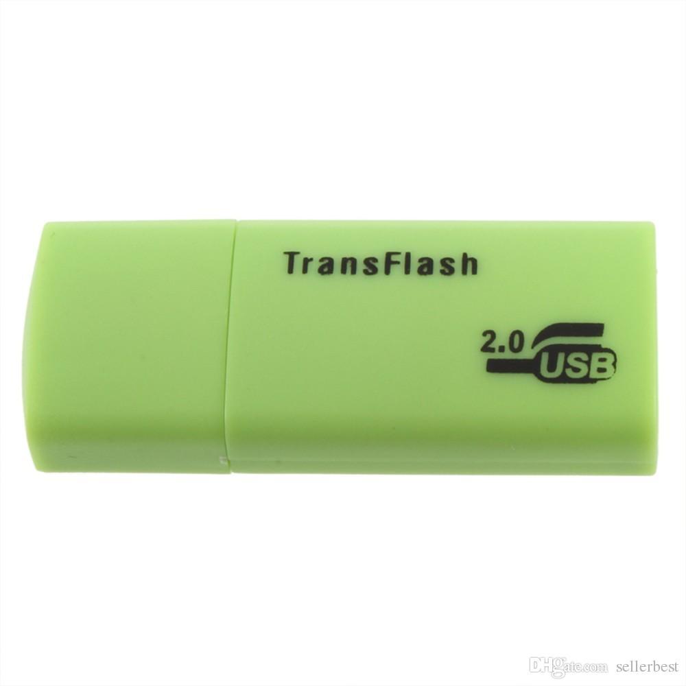 Stable Premium Universal Card Readers TF T-Flash Micro Secure Digital Memory Card Nice Mini USB 2.0 Memory Card Reader Adapter TransFlash