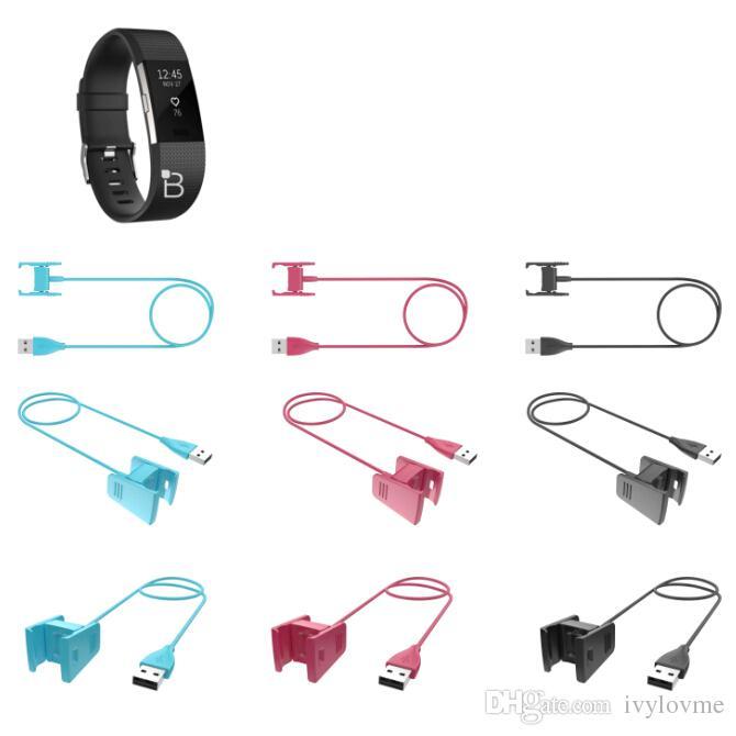 استبدال USB شحن الطاقة الحبل سلك شاحن كابل للحصول على فيتبيت تهمة 2 Smartband 55CM / 1CM أسود / الوردي / الزرقاء