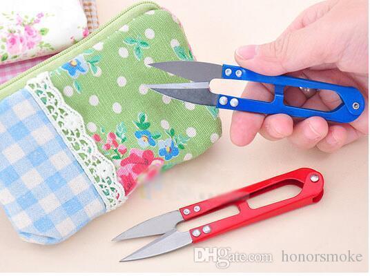 punto croce tipo U piccola forbice filo cucire forbici filati a molla forbici colore strumento utile la cucina o la famiglia grande