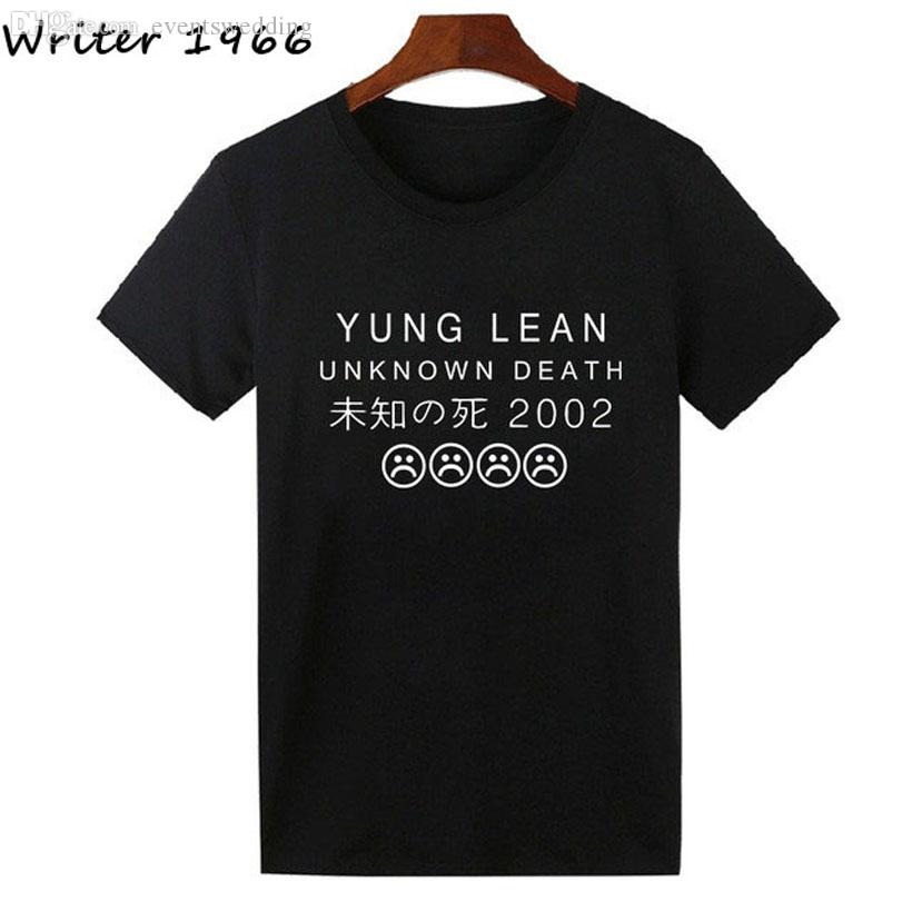 1314afb458aee1 Wholesale-YUNG LEAN UNKNOWN DEATH Sad Boys T Shirt Men Women ...