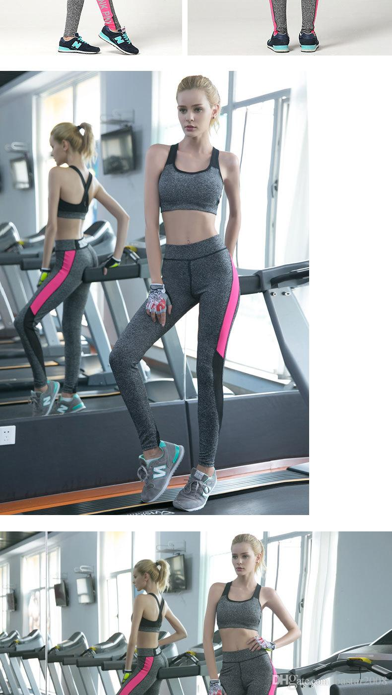 Pro Women Long Life Elastic Sport Long Pants Fitness Young Girl Gym e Yoga Fitness in esecuzione Legging stretto