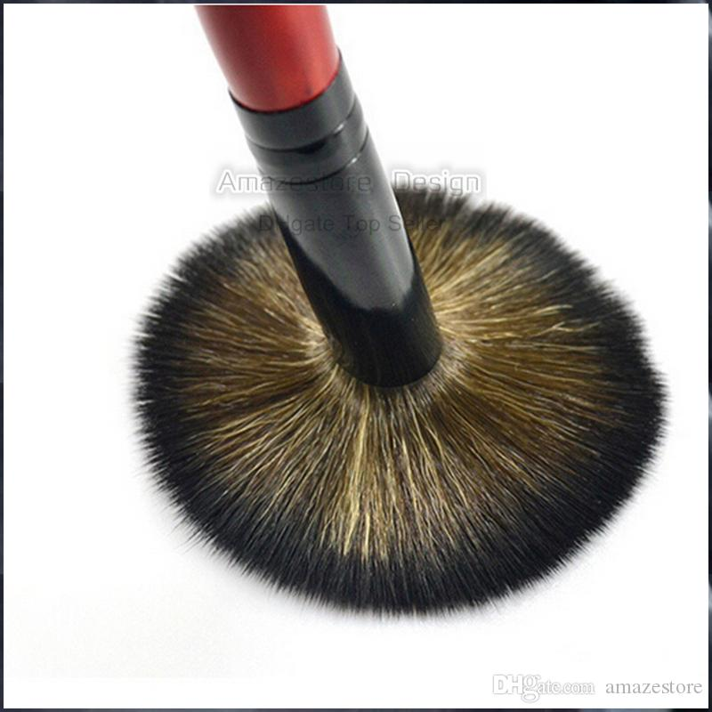 Cheap short-Handled Soft And Dense Makeup Brush Pro Cosmetic Brush BB Cream Concealer Foundation Blush Powder Brushes