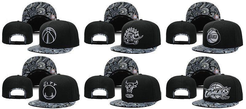 Cheap 2016 Paisley Snapback Hats Team Sports Snapback Basketball ... e6b29354c48