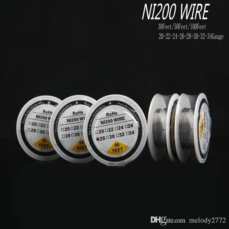 Ni200 Wire Heating Resistance Coil 30 Feet Spool Awg 22 24 26 28 30 ...