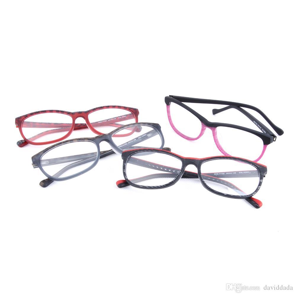 Großhandel Multicolor Brillen Rahmen Für Frauen Mode 2017 Acetat ...