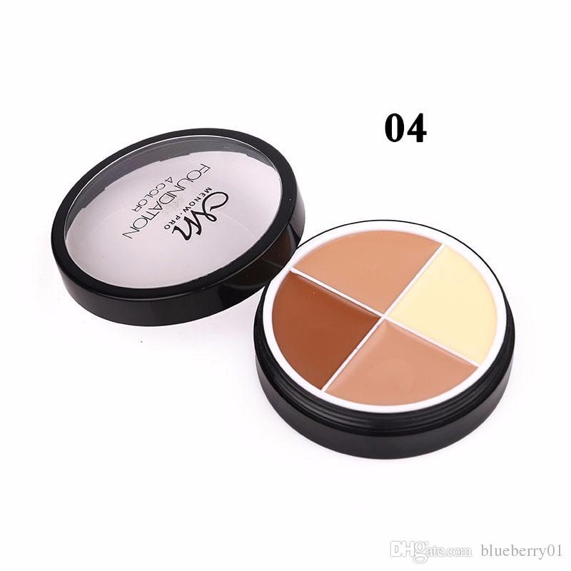 Menow es marca maquillaje facial corrector crema duradera impermeable camuflaje corrector paleta cosméticaC