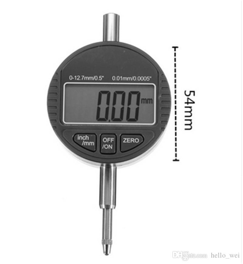 "0-12.7mm/0.5"" x0.01mm digital indicator digital dial indicator electronic dial indicator indicator dial digital dial Tool Parts"