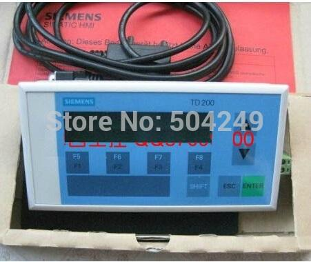 TD 200 6AV3-607-1JC30-0AX1 TEXT Mostrar nuevo y original
