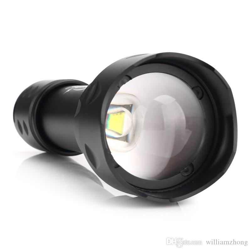 TK20 Flashlight ZOOM CREE 1200LM Waterproof Lanterna LED 3 Modes Zoomable Torch 18650 battery Flashlight Linterna led