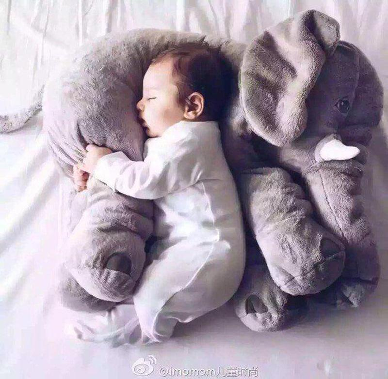 Grosshandel Kawaii Kinder Schlafzimmer Elefant Kissen Baby Bett