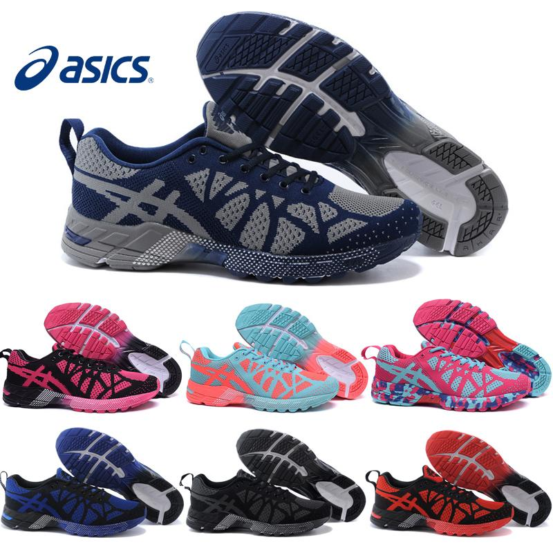 the best attitude 9e5d1 f8a29 Asics Gel-Noosa Tri 9 Flyknit Men Women Running Shoes 100% Original Cheap  Jogging Sneakers 2016 New Sports Shoes Free Shipping Size 5.5-11