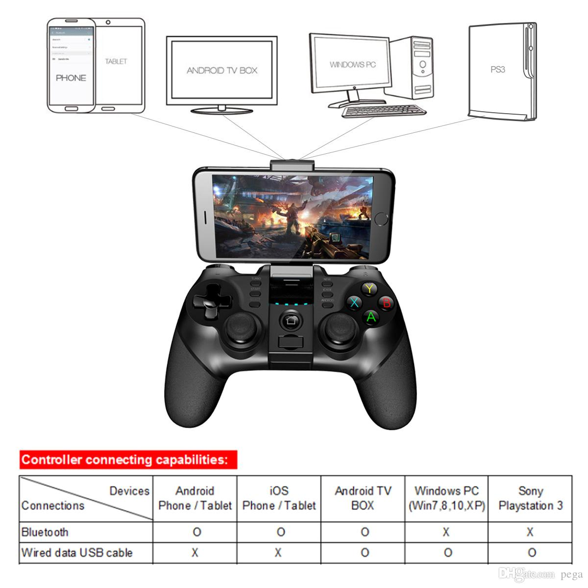 samsung tv game controller. Dhl Free Ipega Gamepad Pg 9077 Gaming Bluetooth Controller Joystick For Iphone Ipad Samsung Android Tablet Pcs Best Racing Wireless Tv Game