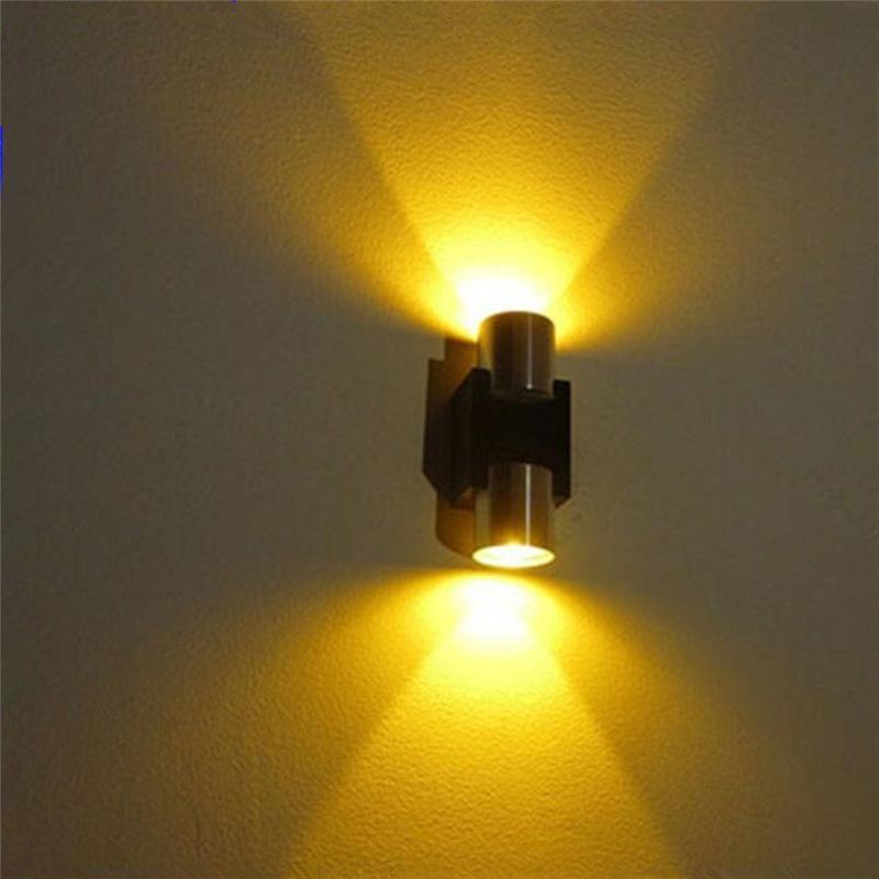 مصابيح الجدار الحديثة Mouted للزينة تشديد الزجاج عاكس الضوء الألومنيوم السلطة العليا الصمام أضواء الجدار رخيصة STB