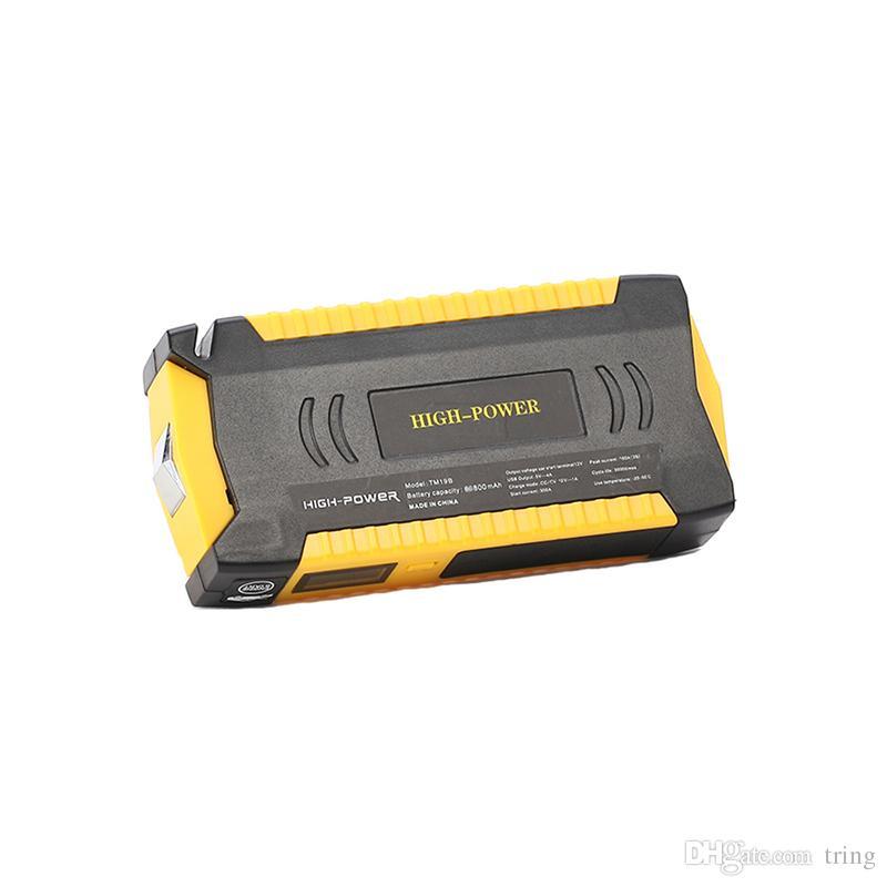 Новый большой емкости 69800mAh автомобиль прыжок стартер бензин дизель 4 USB Auto power bank автомобиль booster start jumper