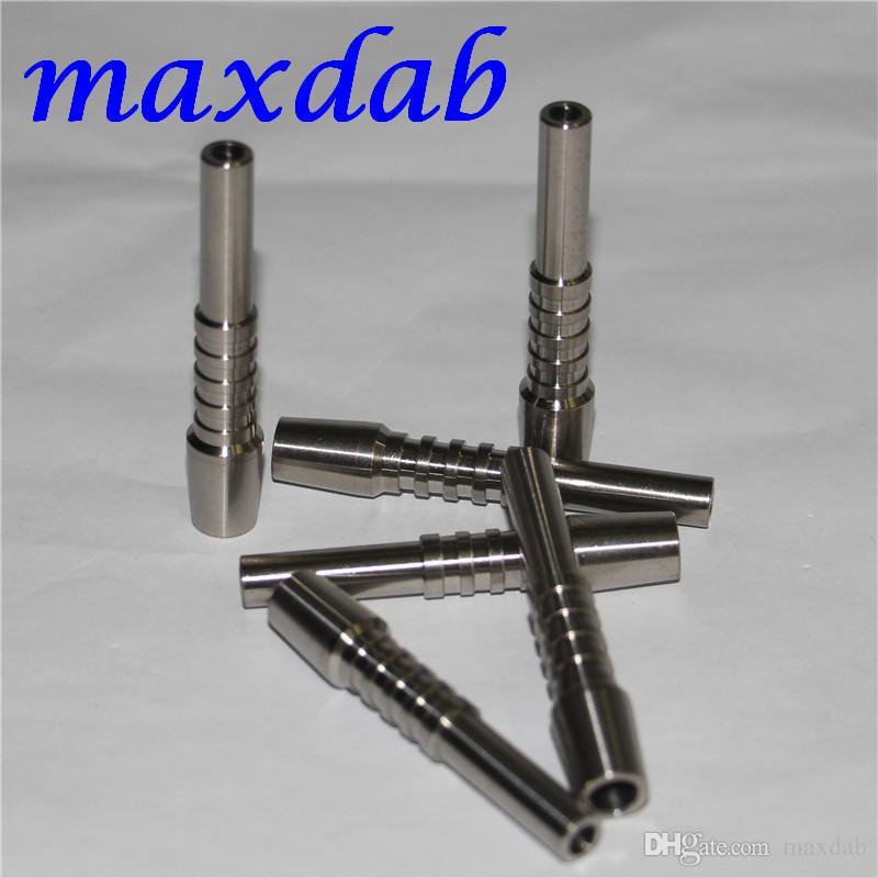 Outil Nectar Collecteur GR2 Nail Titanium 10mm Nails inversé Grade 2 Titaniums TIME POUR TYPION D'EAU DE VERRE BONG