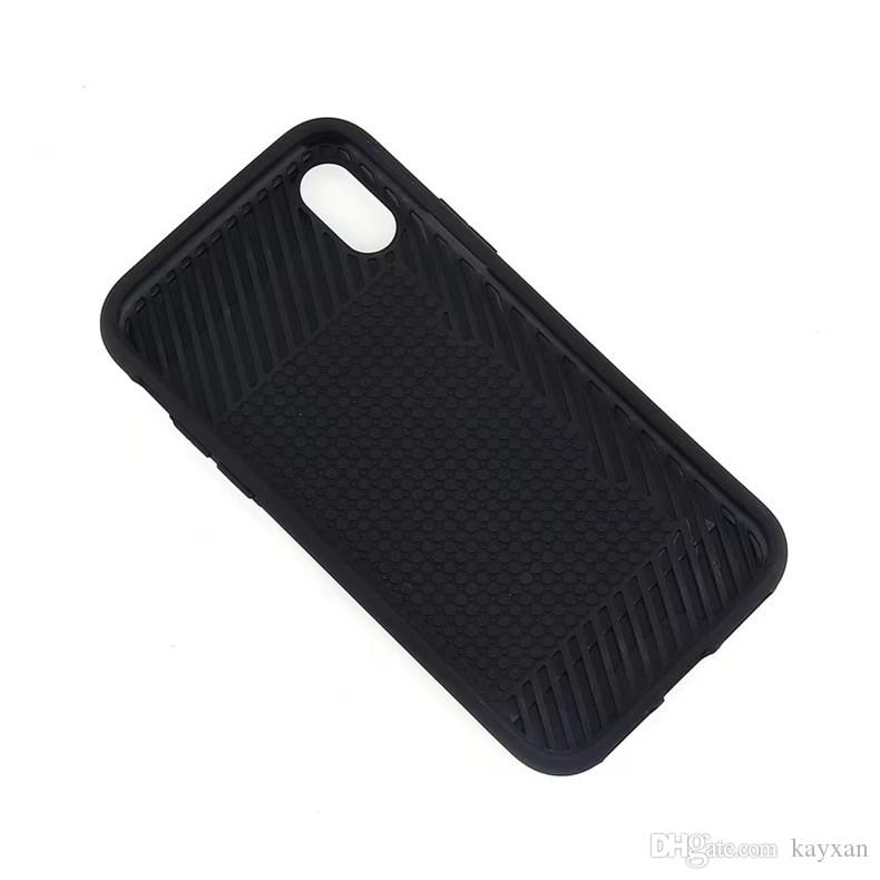 Drawing Card Slot cover For ZTE V6 Plus cases hybrid Armor Case for ZTE L5 carbon fiber cover with OPP
