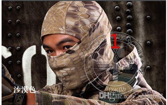 Дышащий гремучей змеи Cam тактическая Маска анфас Маска мотоцикл Велоспорт Балаклава шлемы