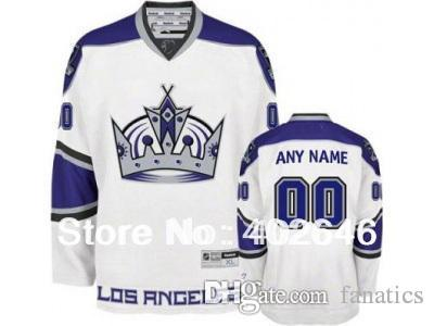 the best attitude 8f488 15581 Mens LA Kings customized / custom hockey jersey, black 3rd or white 3rd  colors, w/ Crown in front, pls read size chart before order