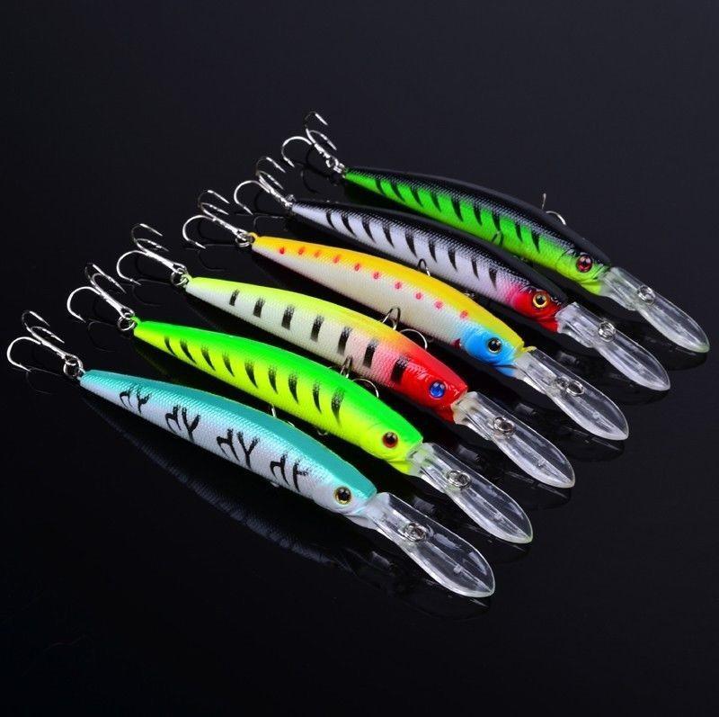 Isca Artificial Bait Pesca Swimbait Crankbait 14.5cm 14.7g Gros gibier Pêche wobbler minnow Rap Lip Shad pêche leurres