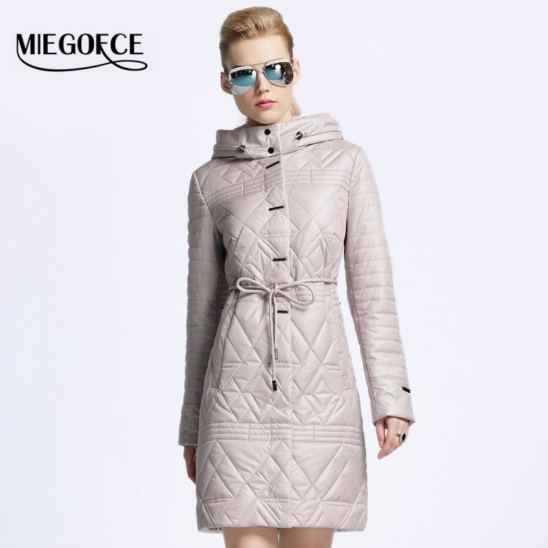 Miegofce 2017 New Spring Jacket Women Winter Coat Women Warm ...