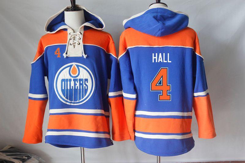 Edmonton Oilers Hoodies Jerseys Blank Taylor Hall Eberle Connor McDavid Ryan Nugent-Hopkins Andrew Ference Hoodies Sweatshirts