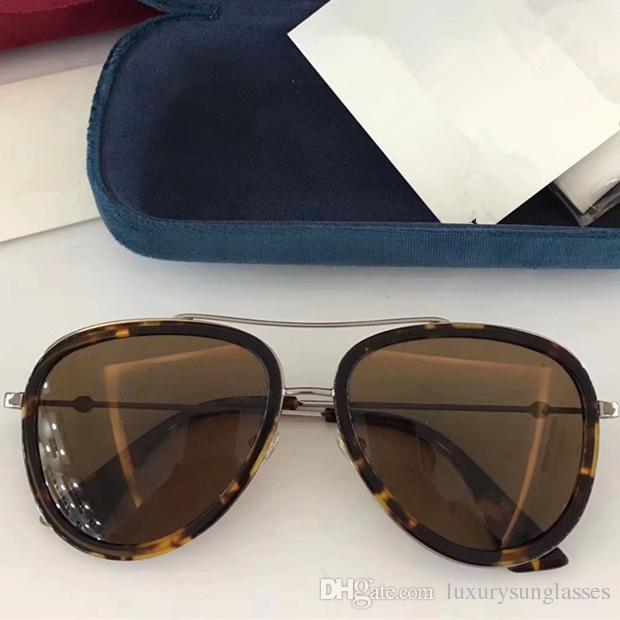lunettes de soleil de designer de luxe pour les femmes 0062 classique Été Style De La Mode Cadre en métal lunettes de vue Top Qualité lunettes UV Protection Lens