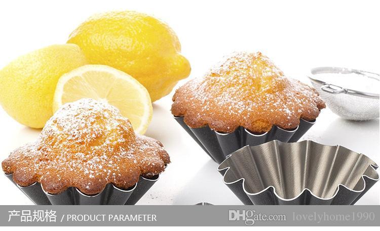 Cake High Carbon Steel + Whittford Mould Baking Tool Egg Tart Mold