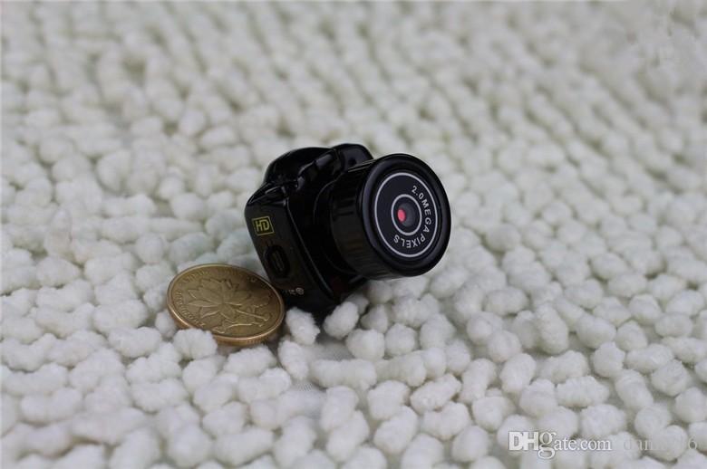 뜨거운 판매! Y2000 초소형 소형 카메라, 미니 DV 카메라 옥외 새로운 소형 모형 카메라 무료 배송