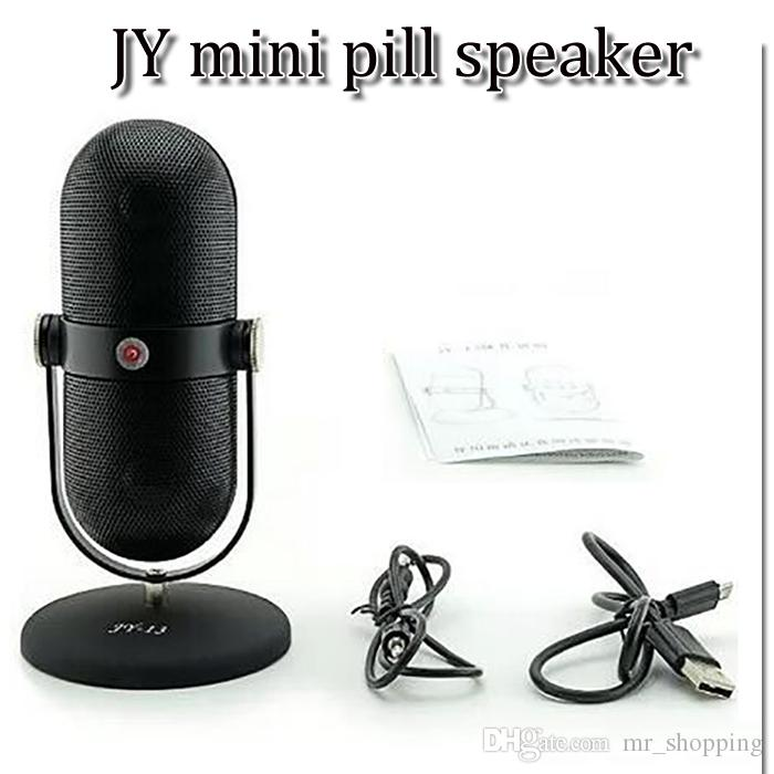 JY 13 JY-13 JY13 Altoparlanti senza fili bluetooth portatili mini Hi-Fi Lettore musicale di luce Micro SD TF Mic Porta auricolari USB