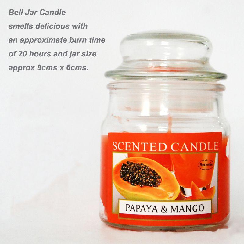 Kokulu Mumlar Bell Kavanoz Mum Kokulu Çeşitli Aroma, Aroma Parafin Mum Aromaterapi Mumlar Ürün Kodu: 121-1000