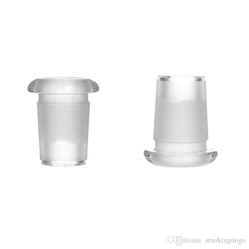 Smoking Dogo Glass Adapter 14mm to 18mm Downsize Flush Top Low Profile Adapter for Glass Bongs Water Pipes Ashcatcher