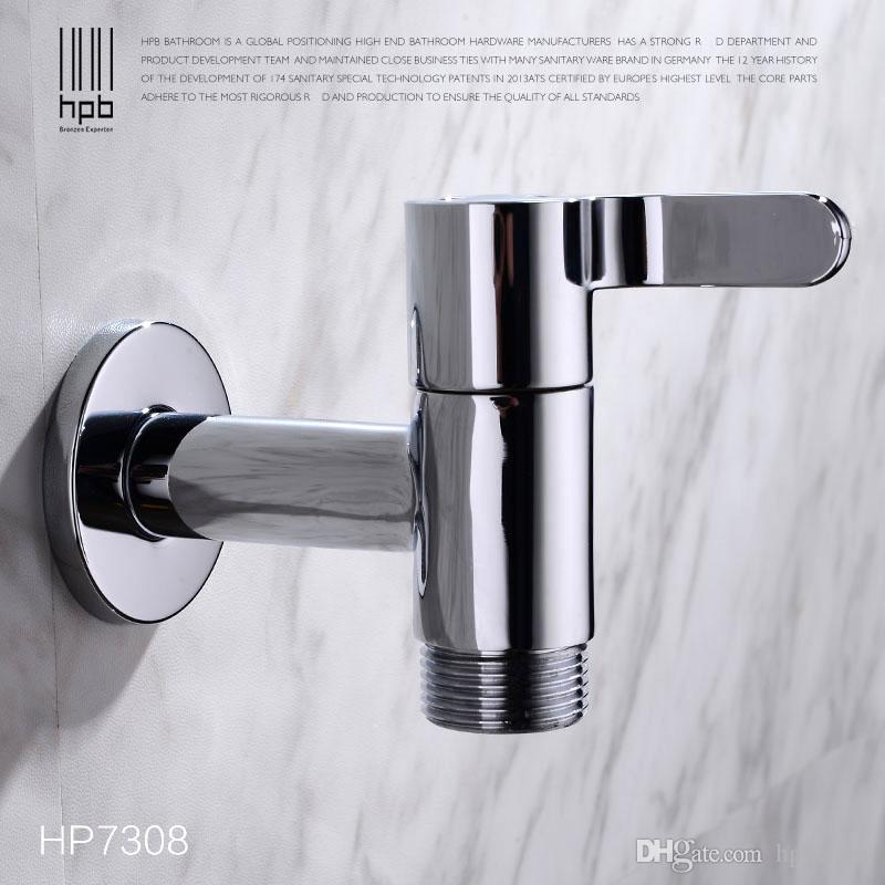 Online Cheap Han Pai G3/4 Brass Garden Faucet Decorative Outdoor Faucets  Washing Machine Connector Tap Bibcock Laundry Utility Faucets Robinet  Hp7308 By ...