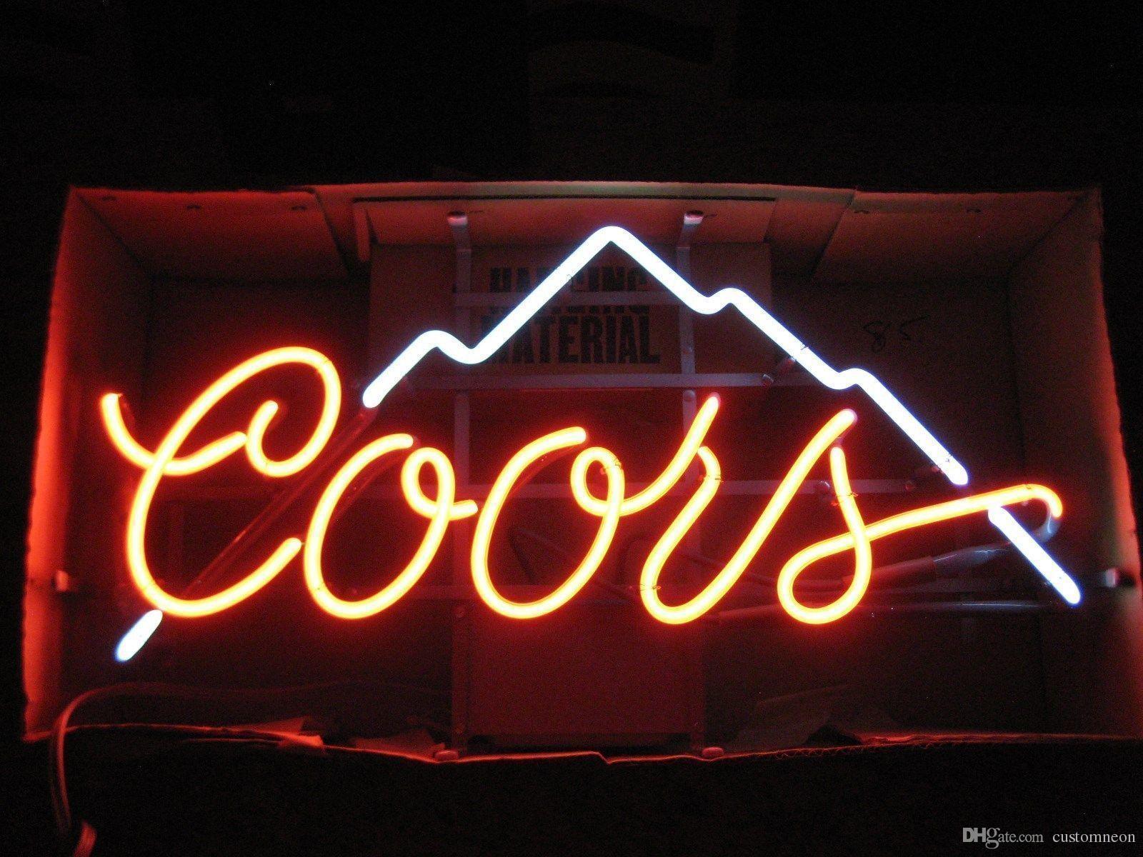 2020 17x14 Coors Light Mountain Vintage BEER BAR PUB CLUB