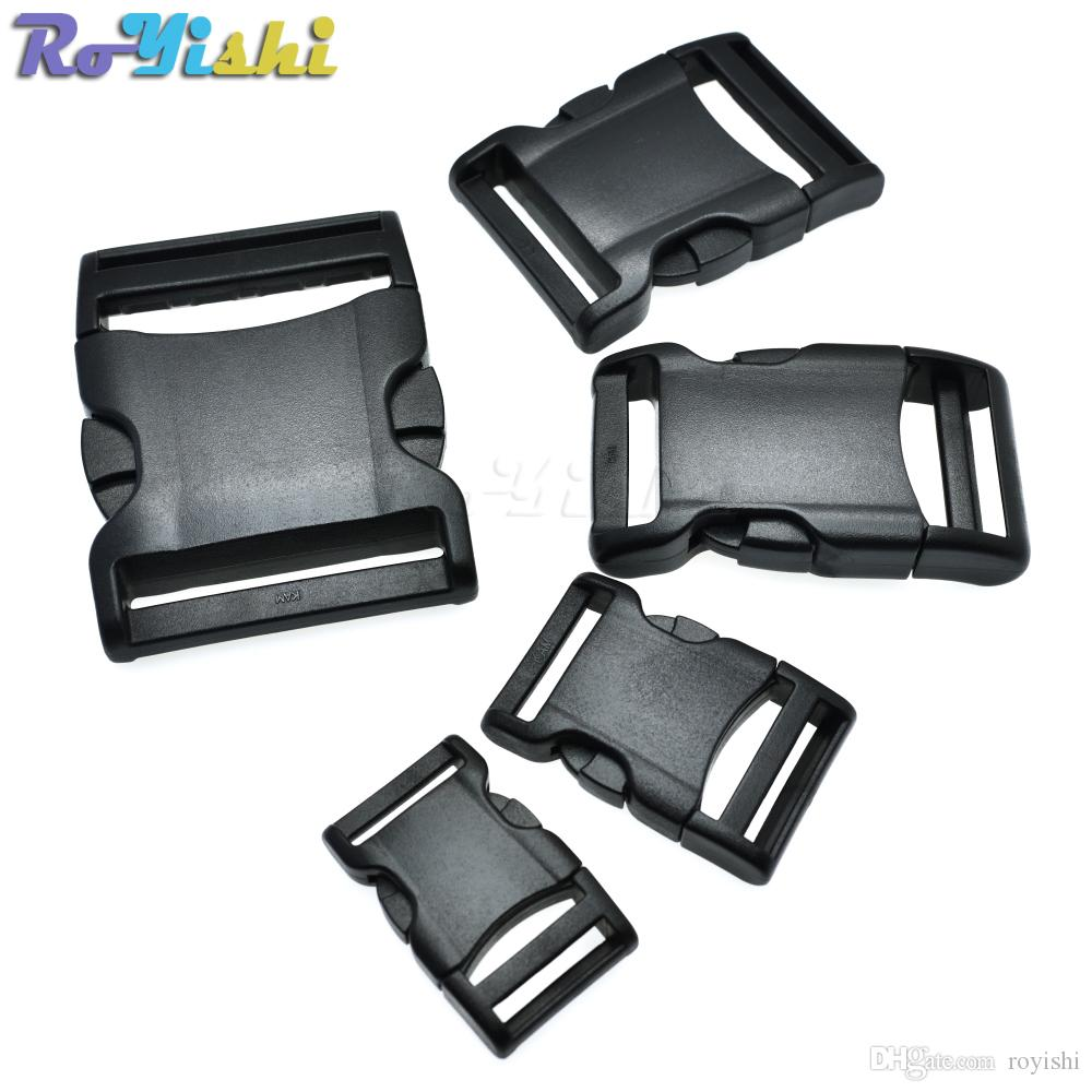 Locking Buckles 32mm Lock Clasp Tape Webbing Strap Connector Backpack Belt