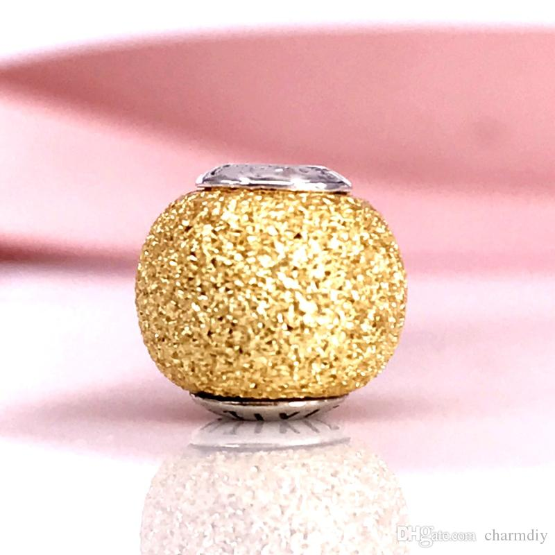 655b095b1 ... SENSITIVITY ESSENCE COLLECTION Charm In Rose Gold With Silver Core Fit  For European Pandora Jewelry Bracelets ...