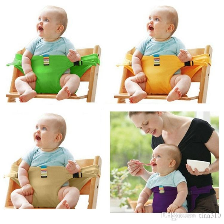 New Portable Baby Chair Infant Seat Dining Lunch Baby Feeding Chair Seat Safety Belt Feeding High Chair Baby Chair B0589 Dining Seat Baby Chair Feeding ...  sc 1 st  DHgate.com & New Portable Baby Chair Infant Seat Dining Lunch Baby Feeding Chair ...