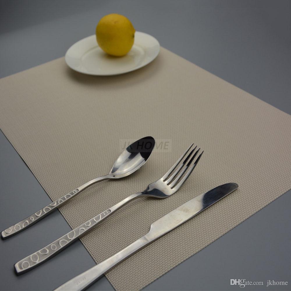 JANKNG 4 шт. / лот обеденный стол коврик плиты колодки чаша Pad подставки быстро сухой скатерть Pad противоскользящая кухня украшение стола