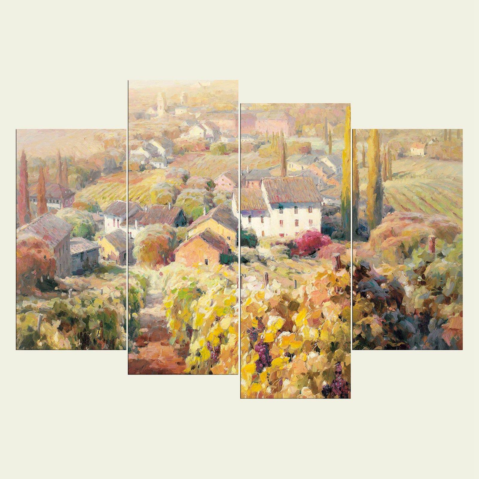 2018 No FrameTown Scenery Series Hd Canvas Print Wall Art Oil ...