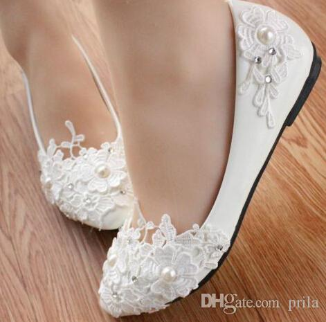 flat wedding shoes for bride 2017 wedding bridal shoes flats for womens milk white 4099