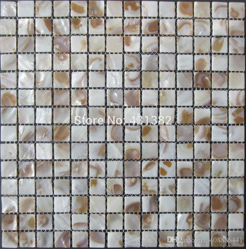 cheap shell mosaic tiles natural decorative mother of pearl tiles rh dhgate com