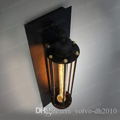60w Loft Industrial Vintage Edison Wall Light Lamp For Home Wall Sconce Metal Frame Factory Feature LLFA289