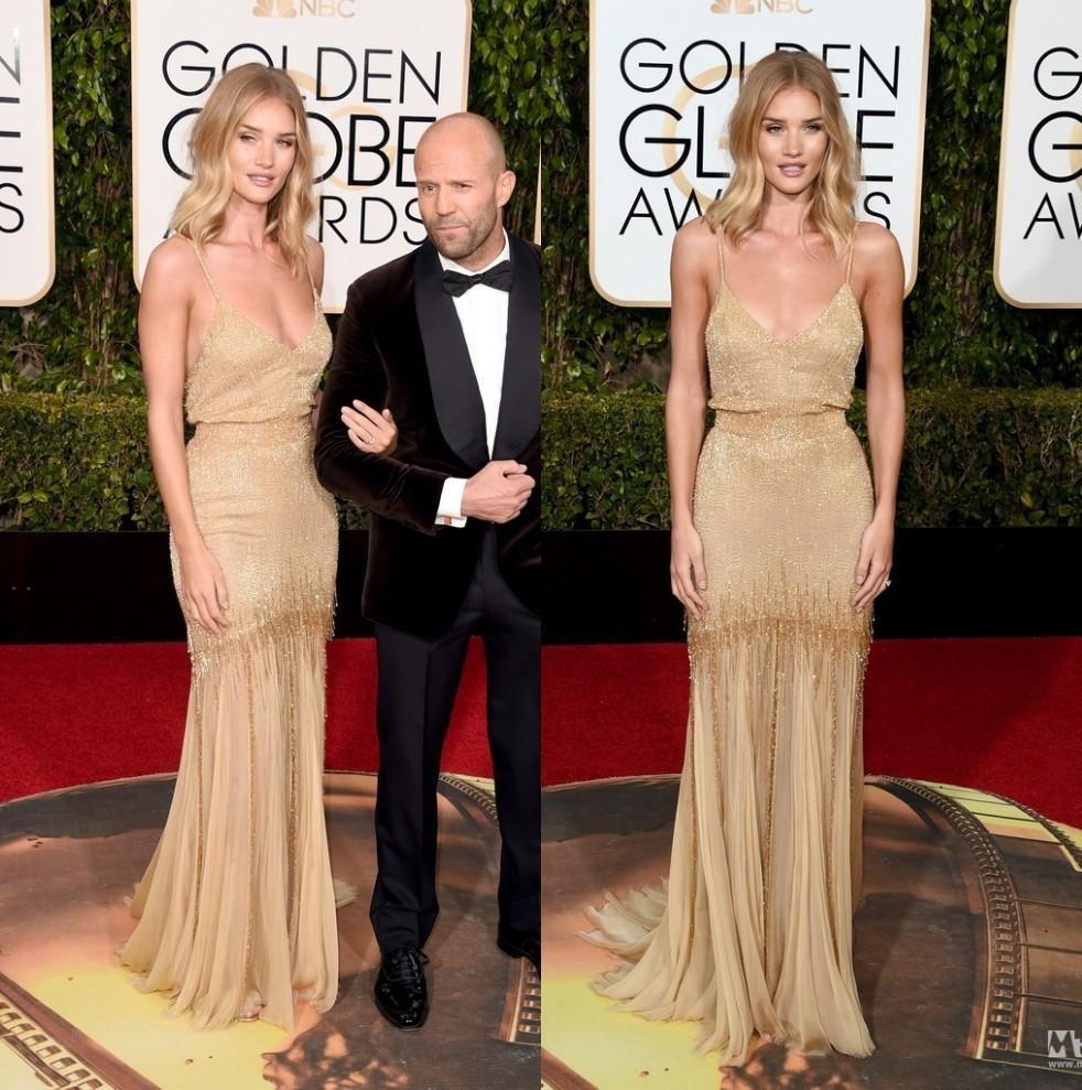 Golden globe red carpet sexy dresses