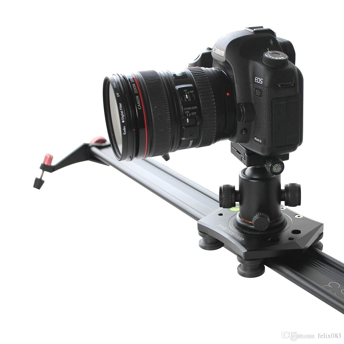 for S3 40 Inch DSLR Camera Slider Dolly Track Video Stabilizer with 22lb/10kg Load Capacity with 4 Damping Adjustable Bearings